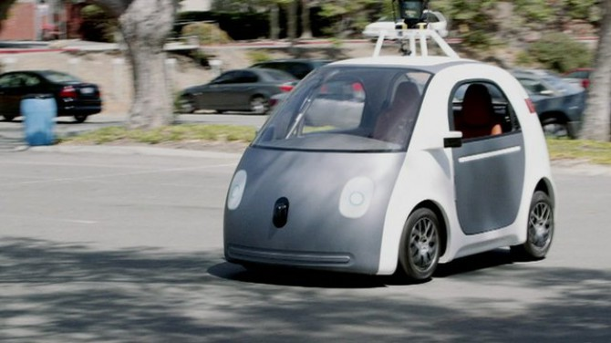 Google's self-driving cars will need steering wheels, at least for now